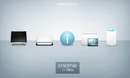 Niome PNGs by Bobbyperux