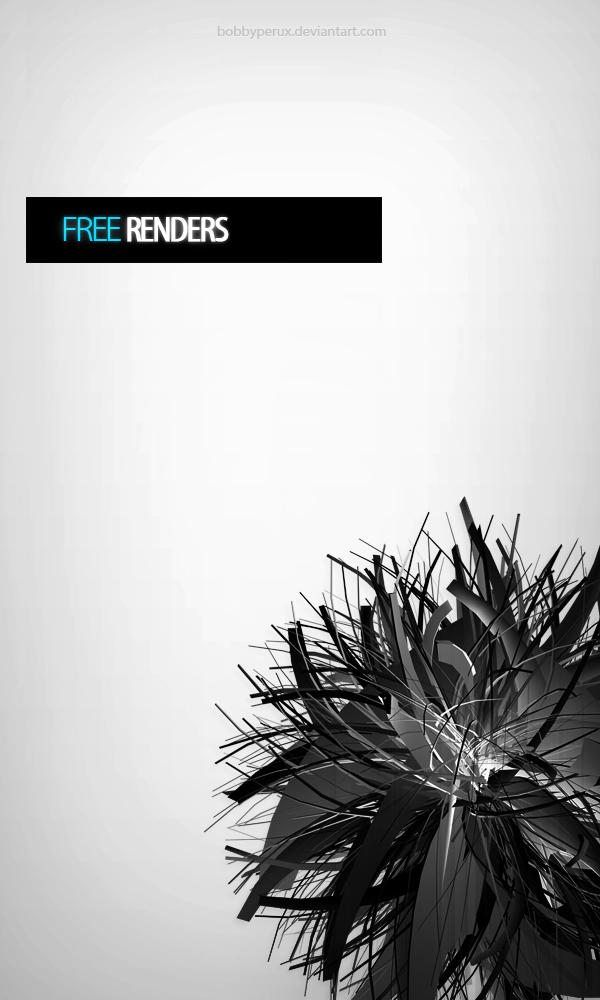FREE RENDERS by Bobbyperux