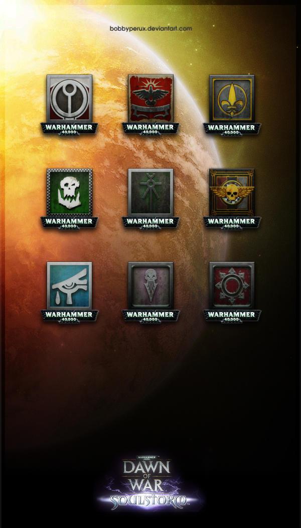 W40K Soulstorm Icons by Bobbyperux
