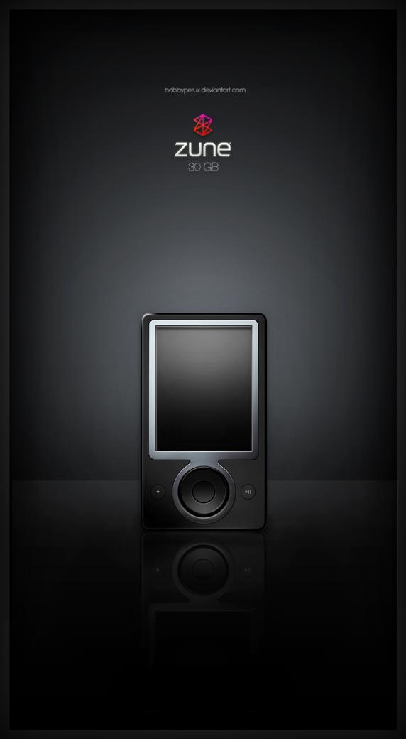 Zune 30GB by Bobbyperux