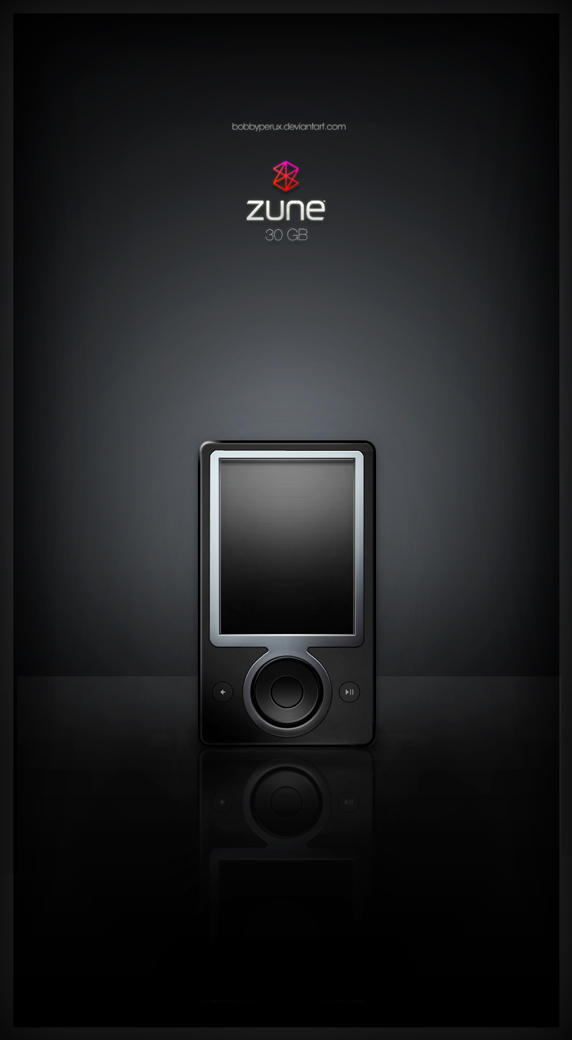 Zune 30GB by Bobbyperux