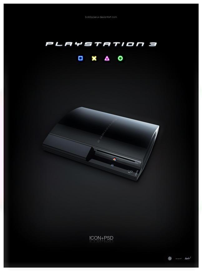 PlayStation3 by Bobbyperux