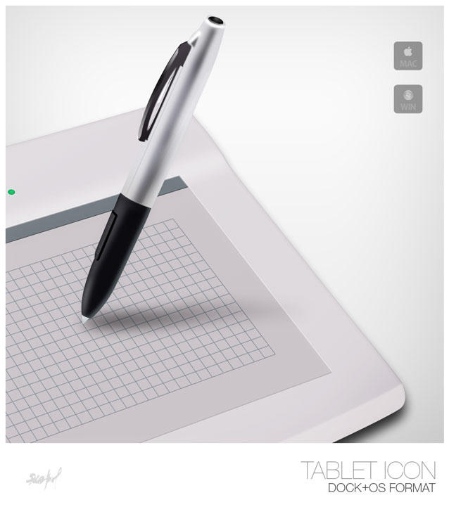 Tablet Icon by Bobbyperux