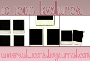 Polaroid Icon Textures by universalicons