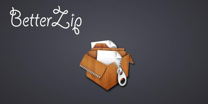 Betterzip Wooden Icon