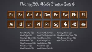 Roaring 20s - Adobe Creative Suite 6 Icons