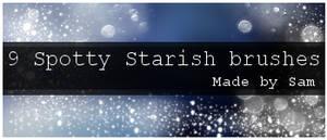 Spotty Star-ish brushes