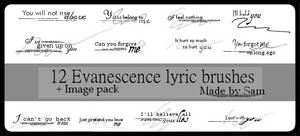 Evanescence Lyrics 2