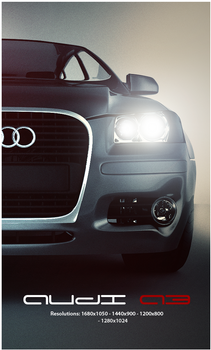 Audi A3 Dark Wallpaper Pack