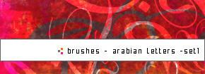 Arbian-letters Set1 by DeeMaaH