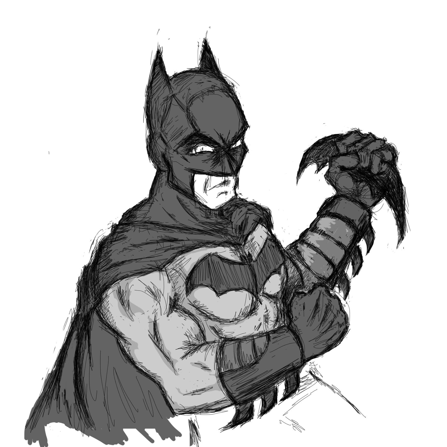 Batman01 -wacom pad test