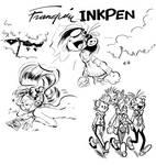 Franquin Style Inkpen