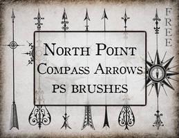 North Point Compass Arrow