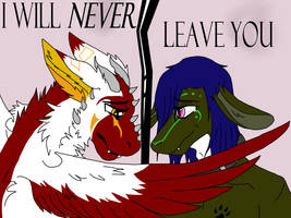 I will never leave you (Little gif)