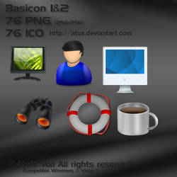 Basicon 1 and 2 by AtuX