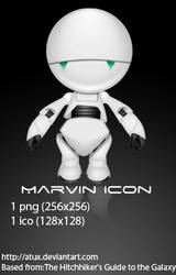 Marvin Icon by AtuX
