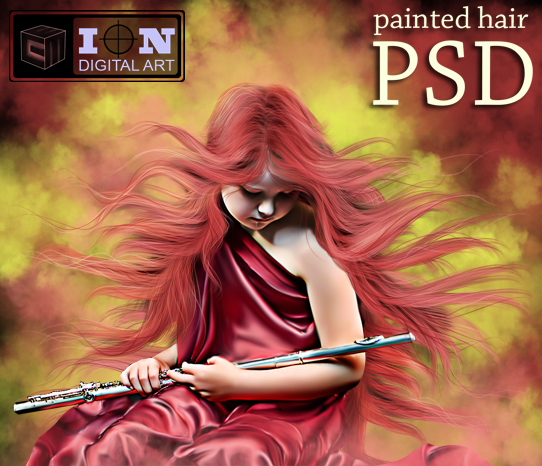 Hair Psd Free Download: PAINTED HAIR PSD By Erool On DeviantArt