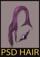 PSD hair #3 by erool