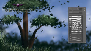 nature brush for painting