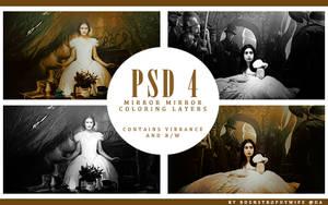 PSD 4 - Mirror Mirror by bdenstrophywife