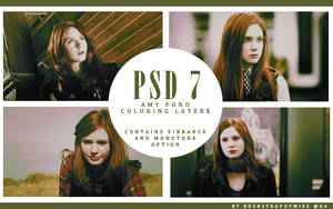 PSD 7 - Amy Pond by bdenstrophywife