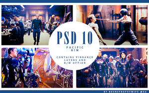 PSD 10 - Pacific Rim by bdenstrophywife