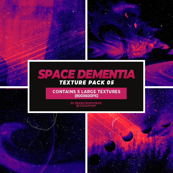 Texture Pack 05 - Space Dementia