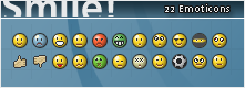 Smile Emoticons by andersson