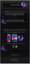 Purple CSS Collab by lockjavv