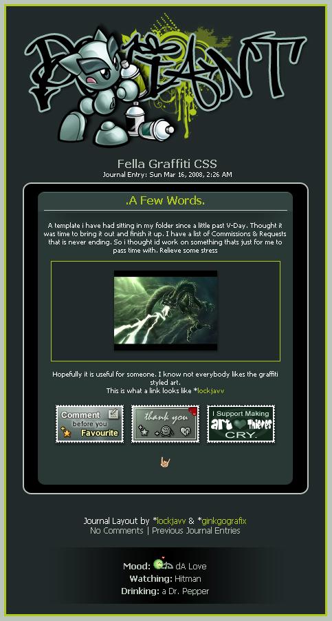 Fella Graffiti CSS