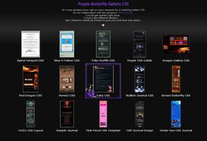 Purple Gallery CSS by lockjavv