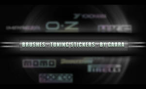 Tuning stickers-brushes