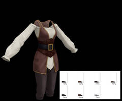 Female Pirate Outfit Download by LunaSukii