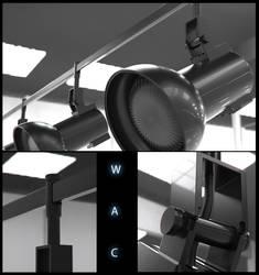 Radiant Track Head by WAC Lighting