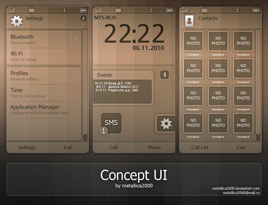 Concept UI - English by metallica2000