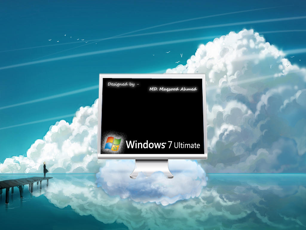 Windows 7 boot screen by solution4you