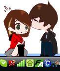 Couple Shimeji by eL-Kay