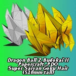 Super Saiyan Hair PDO by EuTytoAlba