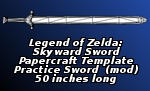 Long Practice Sword PDO by EuTytoAlba