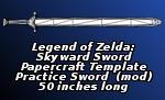 Long Practice Sword PDO by EuTytoAlba