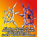 Axel's Chakrams by EuTytoAlba