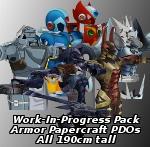 6 Armor WIPs by EuTytoAlba