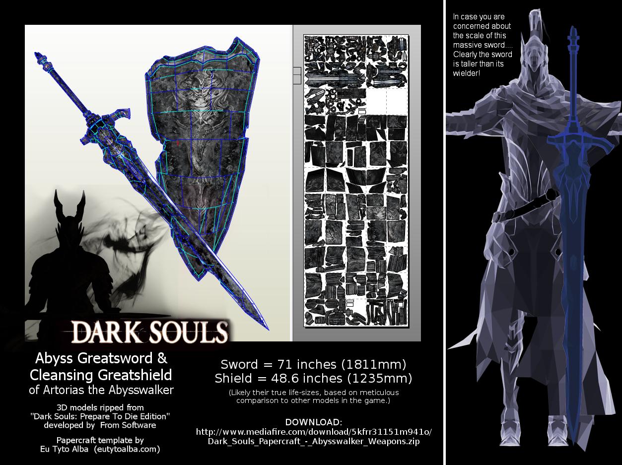 Abysswalker Weapons PDO/PDF (+ Cursed Greatsword!) by