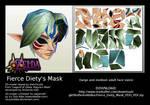 Fierce Deity Mask PDO/PDF