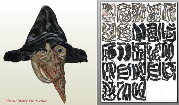 Bloodborne Papercraft - Wearable Beak Mask