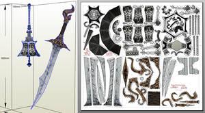Bloodborne Papercraft - Chime Maiden Bell+Dagger