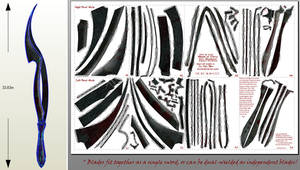 Bloodborne Papercraft - Blades of Mercy