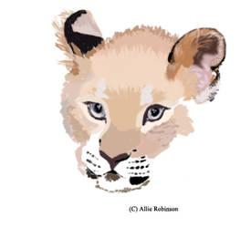 Leopard baby! by Nomble