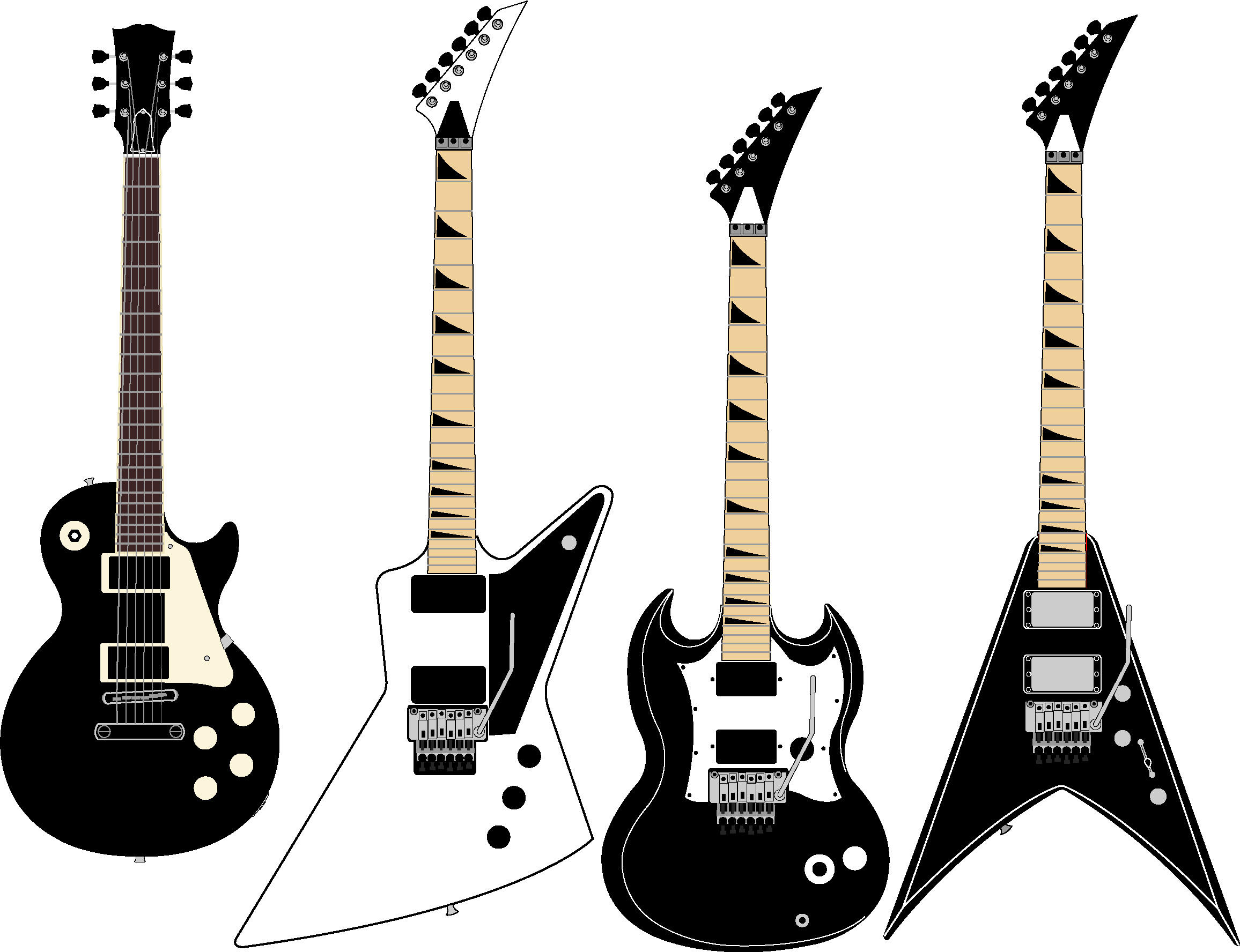 Vector Guitar Drawings by guitartist44 on DeviantArt