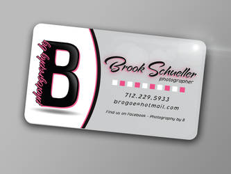 Photography by B-Business Cards by sketchychickAO15